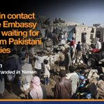 (Video) #Pakistanis stranded in #Yemen speak to Geo News http://t.co/YNaWizb40i http://t.co/xKAB2uFqHg
