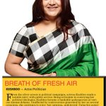 RT @Cinenewsworld: @khushsundar Deccan Chronicle 100 Change Agents - Breath of fresh Air !!!