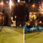 Разгромившие народный мемориал на месте убийства Немцова не скрывали лиц. По ссылке есть видео http://t.co/HhV9qUksUP http://t.co/FU5LUpSL49