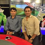 With my best friend Misbah live Dunya TV http://t.co/IbmN5AGcTJ