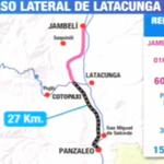 Presidente @MashiRafael describe como es el tramo de #PasoLateralLatacunga -#Salcedo #Enlace417 http://t.co/9pdABAqSJn