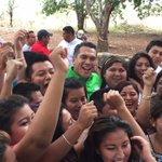 ???? Gracias a los jóvenes de Tenabo por apoyar el proyecto que tenemos para Campeche. #ConTodoParaTodos. http://t.co/Xjg3I3z95i
