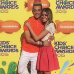 Obviously had zeeeee best time with this gem on the orange #KCAs carpet!!! @etnow @FrankieJGrande #ETnow http://t.co/YBWYsyLtfH