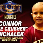 In honor of #WWEHOF #WarriorAward recipient #ConnorTheCrusher, you can donate to @ConnorsCure: http://t.co/ej7G7uDqty http://t.co/87VrIrgxGx