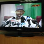 .@inecnigeria boss Jega is presently briefing d press, warns against announcing election results on social media. http://t.co/PUO4xCROsA
