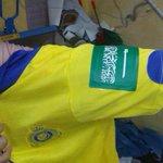 الاندية ترتدي شعار السعودية ع الكتف في الجولة القادمة من #دوري_عبداللطيف_جميل #عاصفة_الحزم #النصر_الاتحاد http://t.co/QJxMWGLGks