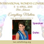 "Excited‼️""@voicesofiwc: Introducing the speaker for session on"
