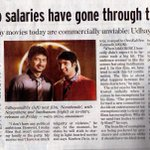 Hope you read the interview of @Udhaystalin sir ... open & bold about the current state of the industry. Do check out
