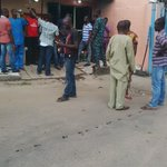 #Nigeria2015: This is PU 067, Orile Oshodi, voters waited all day yesterday & up till now @INECNigeria not here http://t.co/EIw5Q2PAKC