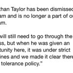 Jonathan Taylor has been dismissed by Alabama. Heres Nick Sabans statement. http://t.co/jhAtOTf7EL