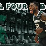 SPARTY ON! Michigan State beats Louisville in OT, 76-70. Spartans advance to their 9th Final Four, 1st since 2010. http://t.co/fruAGQAFjZ