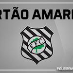 40 Cartão amarelo para Ricardinho, o oitavo cartão do Figueirense http://t.co/yYqIGZ9frG
