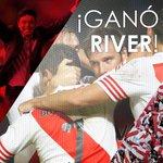 Con goles de Cavenaghi, Solari y Mora, #RiverPlate le ganó 3-2 a Gimnasia en La Plata. #VamosRiver http://t.co/NjHqZUKxic