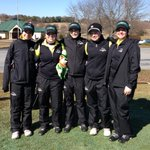 """Frozen in Syracuse to the Millersville U refrigerator for a """"cold start"""" third place finish. Better golf ahead! http://t.co/Xg4uwgVj9m"""