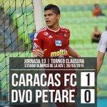 ¡Victoria del @Caracas_FC! Seguimos luchando por el objetivo #vamoscaracas http://t.co/IJIxQpdMVK