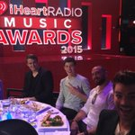Well look at these two having the time of their lives! @ShawnMendes @adamlambert #iHeartAwards ???? http://t.co/sW68Eo4hDX