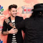 Ran into friend @adamlambert on the carpet. Papz caught us cracking jokes. @iHeartRadio #iheartawards http://t.co/GaVry3exYH