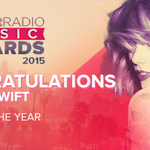 TAYLOR!! @taylorswift13 dominates the #iHeartAwards with a win for Song Of The Year and NOW ARTIST OF THE YEAR! http://t.co/sKPSYvMIJz