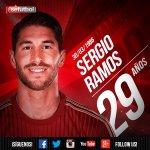 ¡Feliz cumpleaños a @SergioRamos! El Campeón del Mundo y doble Campeón de Europa cumple 29 años. ¡FELICIDADES! http://t.co/XVHYaDuwY9