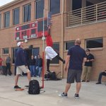 Pro day at CSU Pueblo is underway. http://t.co/wBCU3rJQa3