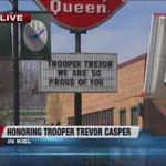 Community gathers to say goodbye to trooper Trevor Casper: http://t.co/q4BJhkGHJf http://t.co/ENqIT1Sr1X
