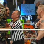 CONFIDENCE!! @WWERollins @BrockLesnar #RAW http://t.co/1QPm1exbhJ