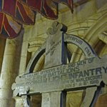 A cross from @durhamcathedral for each day of #HolyWeek. 3. Warlencourt Cross 1916 in Durham Light Infantry Chapel. http://t.co/UKdSeIInTB
