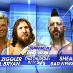 THIS THURSDAY: @WWESheamus returns to action on @WWE #SmackDown at 8/7c on @Syfy! http://t.co/yW64061X5n