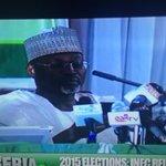 Prof Jega maintains his calmness and still looks unruffled. Nigeria will win!!! #GodWin http://t.co/vBj84epOKv #NigeriaDecides #Nigeria2015