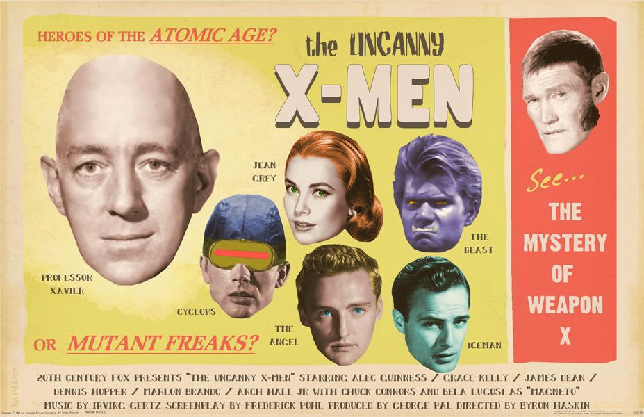 If the X Men had been made in the '50s... http://t.co/48mRxSiHpK
