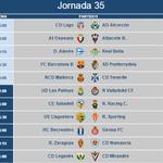HORARIOS | Ya se conoce cuándo se disputarán los encuentros de la J35 en Liga Adelante http://t.co/2ZkxSX6a4S http://t.co/SkFk3HUOE7