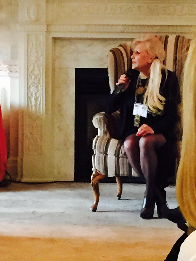 Beautiful inside and out @inesdisanto talking about couture, luxury and continuing to work hard #bizofweddings http://t.co/Ifb2TEZJJG