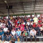 Espectacular ambiente se vive en el partido de ida de semifinales de #CopaPresidente entre el Villanueva - Olimpia. http://t.co/trU3zwW2Vi