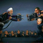 This is how a nuclear deal might look like! Very meaningful! #irantalks dont know the illustrator but nice! http://t.co/nTohLZbU3L