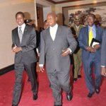 I had a meeting with the President of Zambia, H.E Edgar Chagwa Lungu. We discussed regional peace and security. http://t.co/yJffAWRmg2