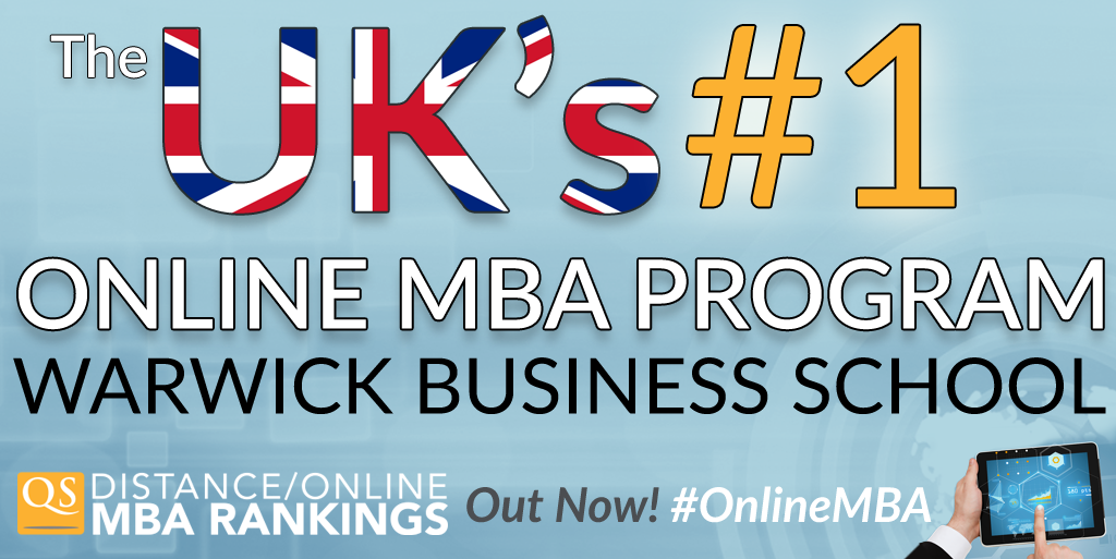 Out now: QS Distance Online #MBA Rankings 2015! @WarwickBSchool is the UK's No. 1 #OnlineMBA: http://t.co/qzfo7SgqQ6 http://t.co/9KxhNxQv79