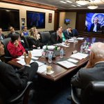 Just Before the Deal: Obama getting an Iran brief last night http://t.co/9R5N8mSA76