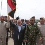 Raising the flag: #Iraq PM @HaiderAlAbadi tours central Tikrit in landmark moment for anti-ISIS effort http://t.co/l2gnt8bMYl