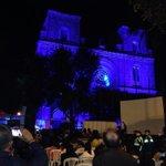 En el Día Mundial del Autismo la Catedral se enciende de azul. #CuencaSePintadeAzul #CuencaVivelaInclusión http://t.co/GsYjEmOkcg