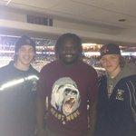 Saw @Boobie24Dixon at the @BuffaloSabres game http://t.co/4QE9j0idEg