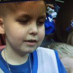 9-year old friend of @THEwillieCS15 has wish granted as #UK fans send him to the #FinalFour #BBN next #wave3news @ 11 http://t.co/W1NAqleeUx