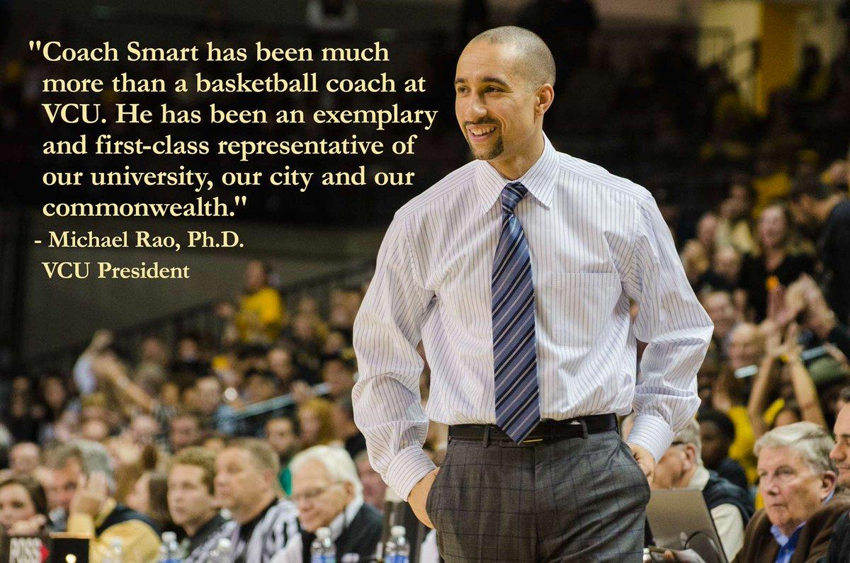 Thank you, Coach Smart. We wish you the best of luck. http://t.co/fYmt0TzWIQ #LetsGoVCU http://t.co/tOghCdwEiZ