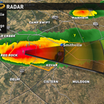 Severe TStorm Warning for Bastrop till 4:30. Reports of GOLF BALL size hail/60 mph winds. Moving East @40 mph #atxwx http://t.co/meMaJmwnaG