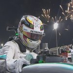 """HAMILTON: """"The Ferraris gave us a really good run for our money. It was hard looking after the tyres out there"""" http://t.co/o1o10gURpm"""