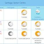 Meteorología: chubascos aislados se esperan para esta tarde en la Región Metropolitana http://t.co/PDRu42niVW http://t.co/Zpdy42xyXy
