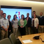 Getting the inside scoop from Umass Alums @WorkHarder22 @CAMcAuliffe @NBA HQ! http://t.co/CMWvfe4g2S