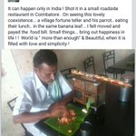 """: Such a lovely, heartwarming act  http://t.co/T20889tq60"""". Pls keep some water bowls n grains 4 birds on ur terrace. Life is beautiful !!!!"""