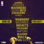 #EverybodyUp... the 2015 #NBAPlayoffs tip off TODAY!