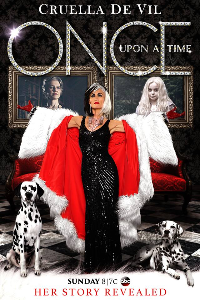 #Cruella - ABC Promotional Poster #OUAT #OnceUponATime http://t.co/7Ifjcx82V7
