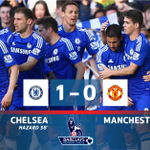 #BPL - RESULT: Chelsea take a major step to the title thanks to Hazards wonderfully taken goal. #SSFootball http://t.co/Vb9UNtyTQ1